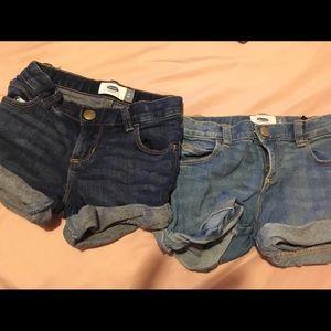 Old navy toddler jean shorts new no tag!